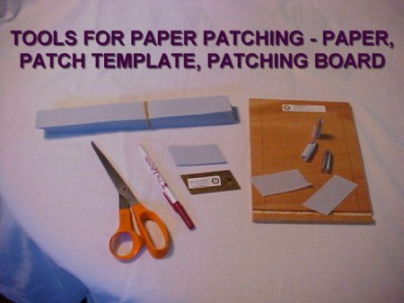 Tools for paper patching