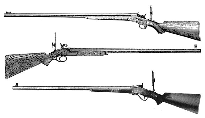 Creedmoor rifles
